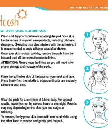 How to use_face_neck_silicone pads